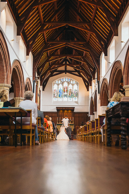 St Margaret Church Birmingham Wedding Portrait