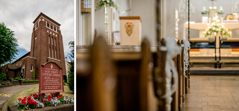 Holy Trinity Catholic Church Sutton Coldfield Wedding