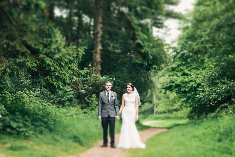 Lickey Hills Birmingham Wedding Portrait