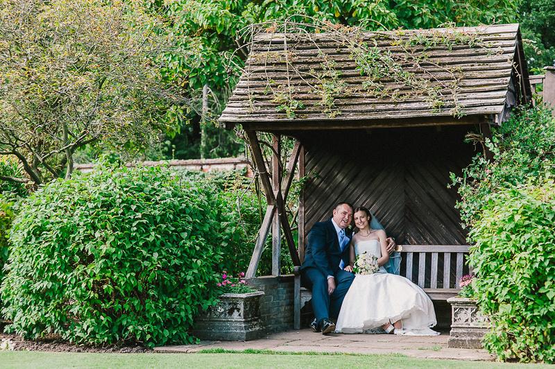 Elvaston Castle Derby Wedding Portrait