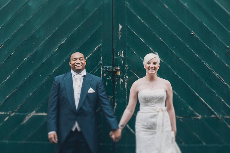 The Plough & Harrow Birmingham Wedding Portrait
