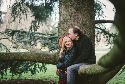 Cannon Hill Park Pre Wedding Photography