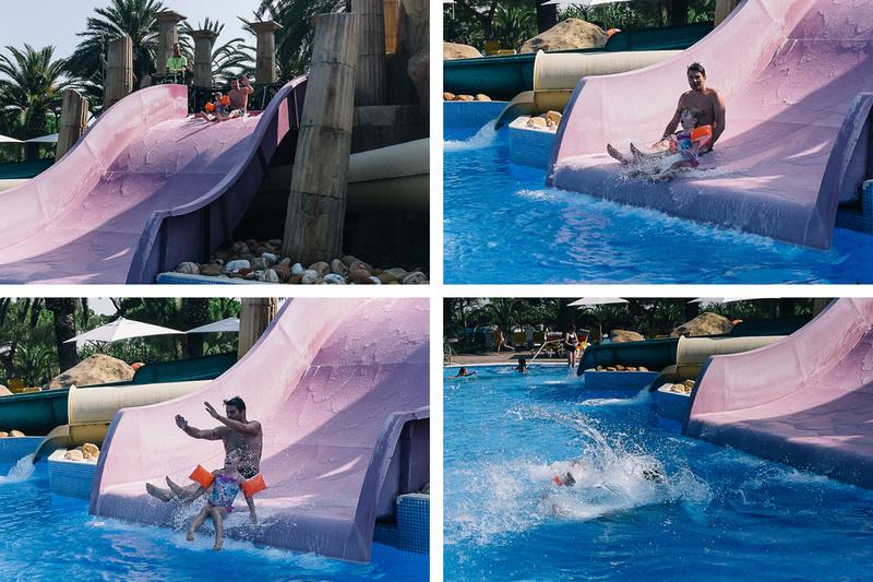 Sanguli pool slides