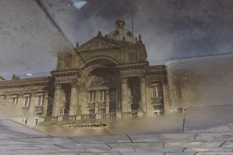 Reflection of Birmingham Council House
