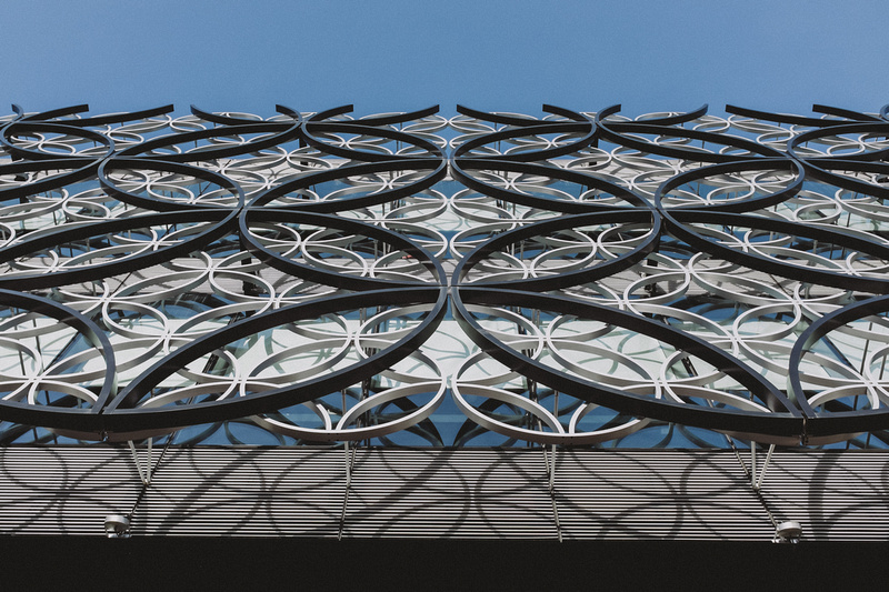 Library of Birmingham structure