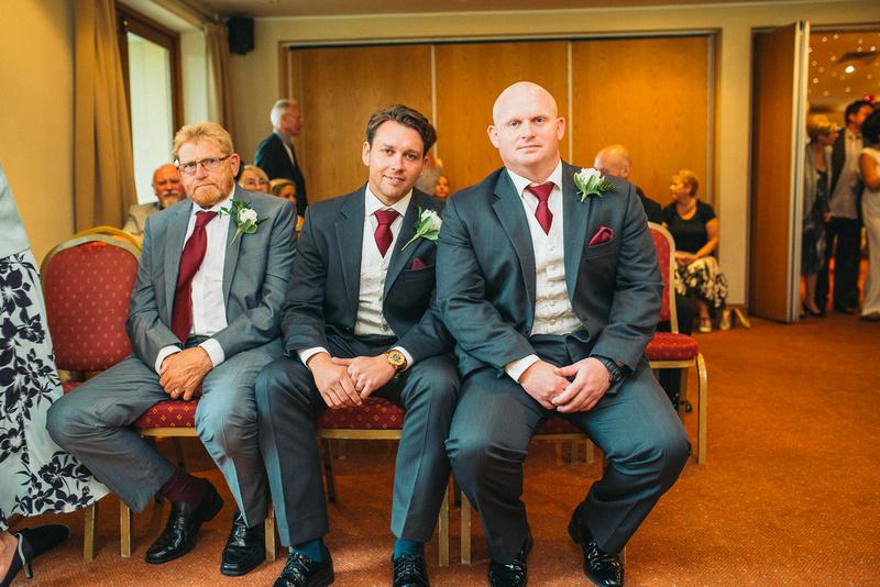 Groomsmen at Granary Hotel Wedding