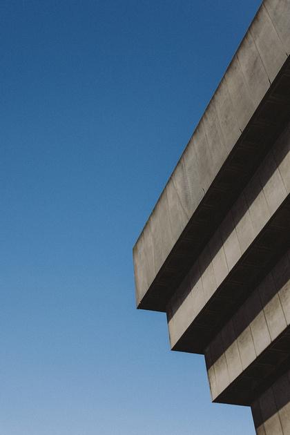 Birmingham Central Library Building edges