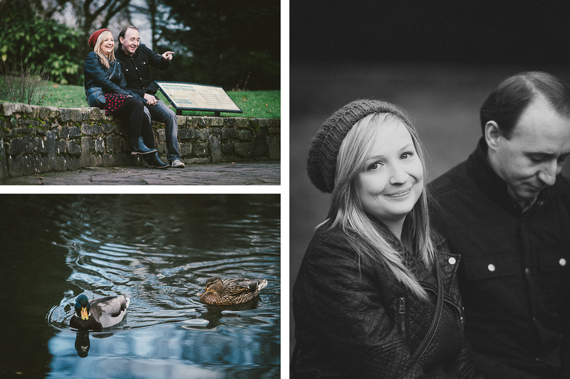 Overlooking the duck pond at Cannon Hill Park